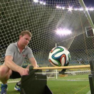 Goal-line technology tested at Maracana
