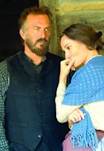 Kevin Costner, Sarah Parish | Photo Credits: Chris Large/History Channel