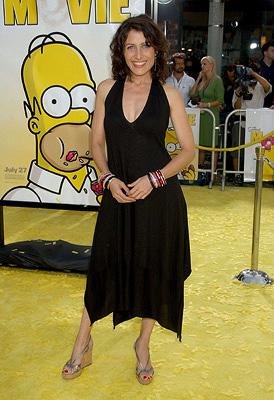 Lisa Edelstein at the Los Angeles premiere of 20th Century Fox's The Simpsons Movie
