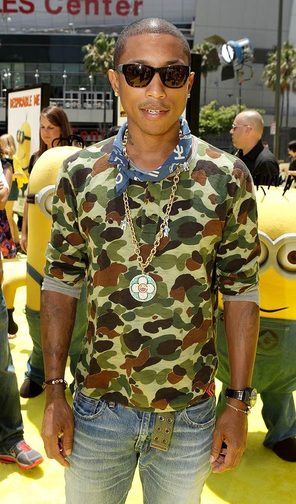 Pharrell Williams LA Film Fes