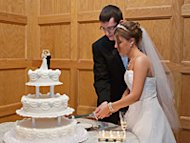 Rachel and Brad Kerstetter at their May 2011 wedding.