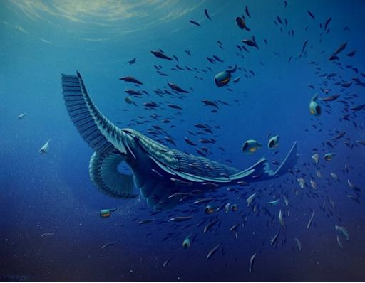 Gigantic Cambrian Shrimplike Creature Unearthed in Greenland