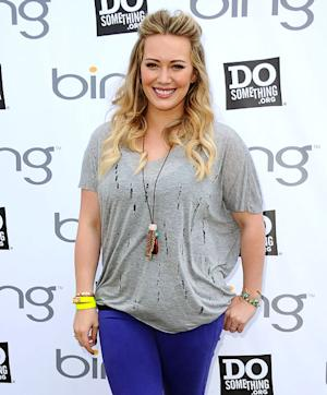 "Hilary Duff: I'm ""Working Hard"" to Lose the Baby Weight"
