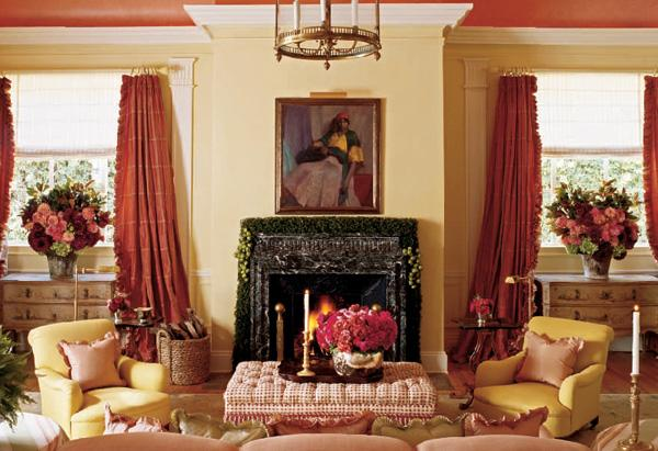 Oprah's Santa Barbara Guest House: The Living Room