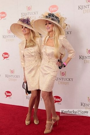 priscilla and patricia barnstable at the derby 2012
