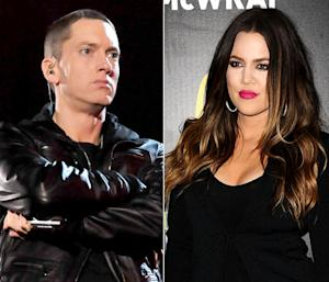"Eminem Calls Khloe Kardashian the ""Ugly Kardashian"" in New ""Berzerk"" Single"