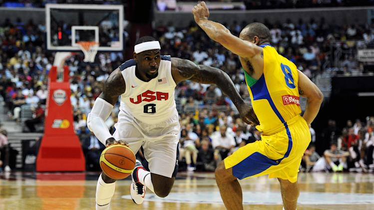 United States v Brazil - Men's Exhibition Game
