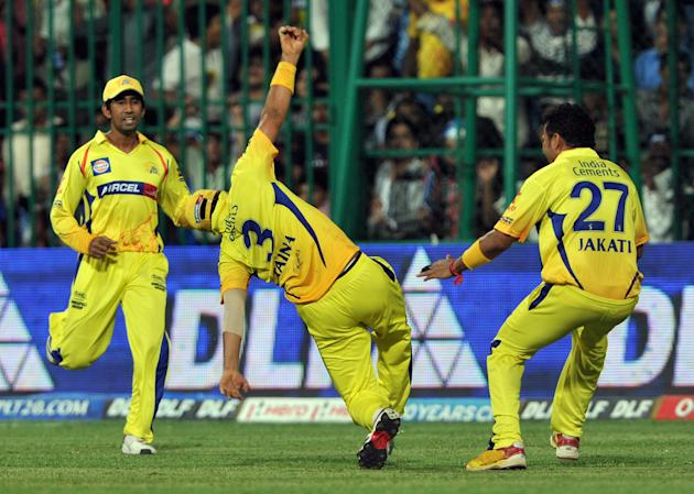Chennai Super Kings fielder Suresh Raina