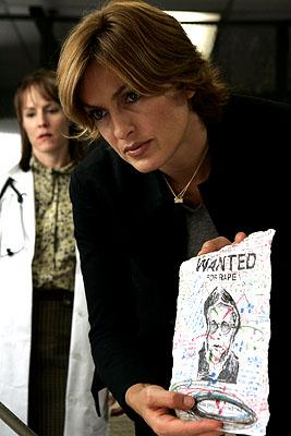 "Mary Stuart Masterson as Dr. Rebecca Hendrix and Mariska Hargitay as Detective Olivia Benson NBC's""Law and Order: Special Victims Unit"" <a href=""/baselineshow/4728792"">Law & Order: Special Victims Unit</a>"