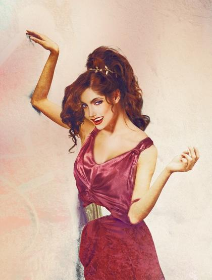 "Megara from ""Hercules"" looks like she's up to no good. Perhaps because she had to work for Hades."