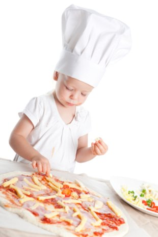 What crazy pizza toppings to your kids love?