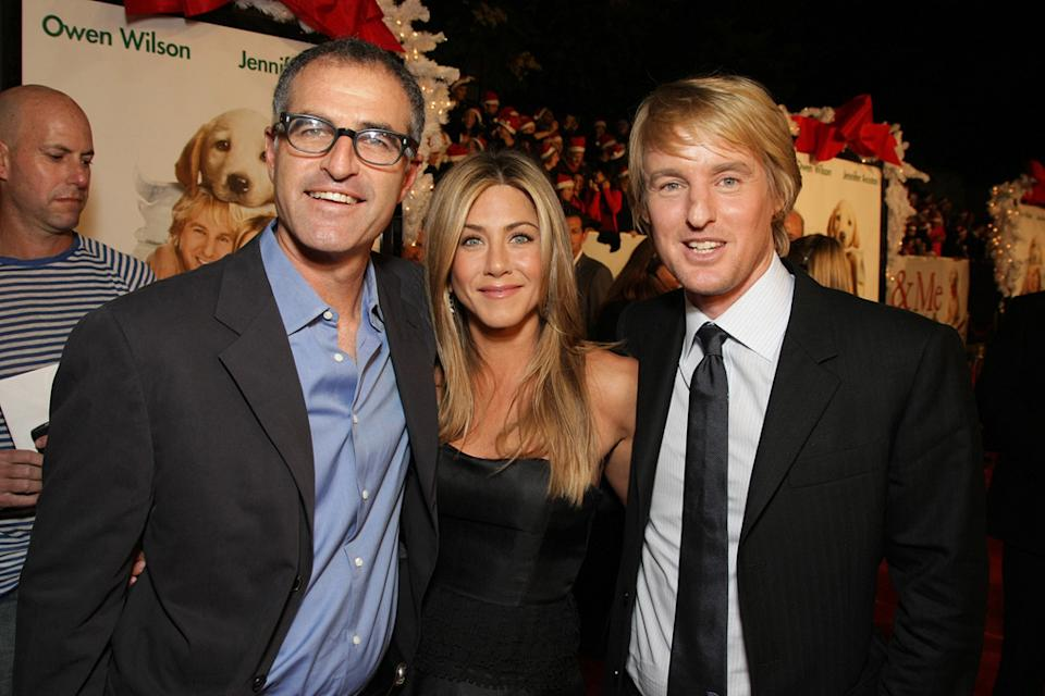 Marley and Me LA Premiere 2008 David Frankel Jennifer Aniston Owen Wilson