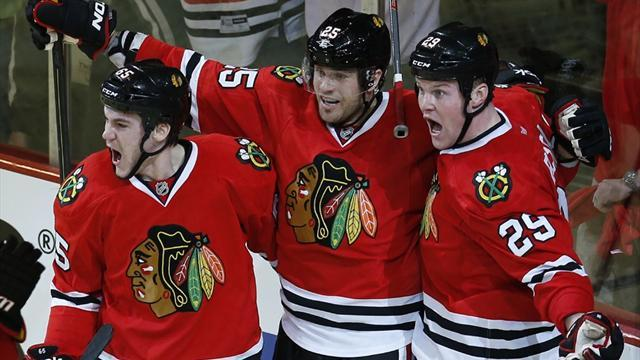 Ice Hockey - Blackhawks open series with win over Wild