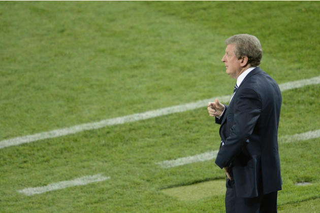 English Headcoach Roy Hodgson Looks AFP/Getty Images