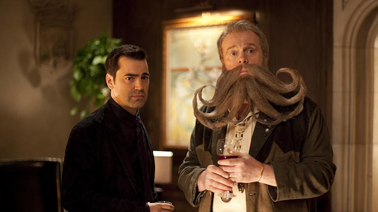 Dinner for Schmucks Paramount Pictures 2010 Ron Livingston Rick Overton