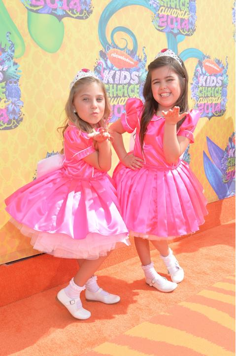 Rosie Grace McClelland and Sophia Grace Brownlee
