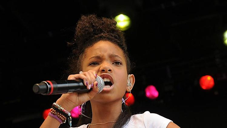 Willow Smith Easter Egg Roll