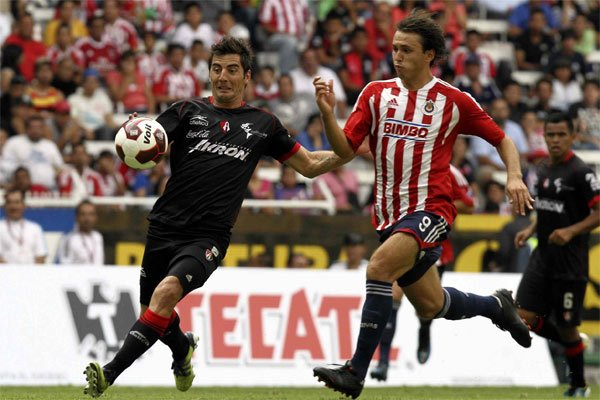 Atlas vs Chivas. Mexsport