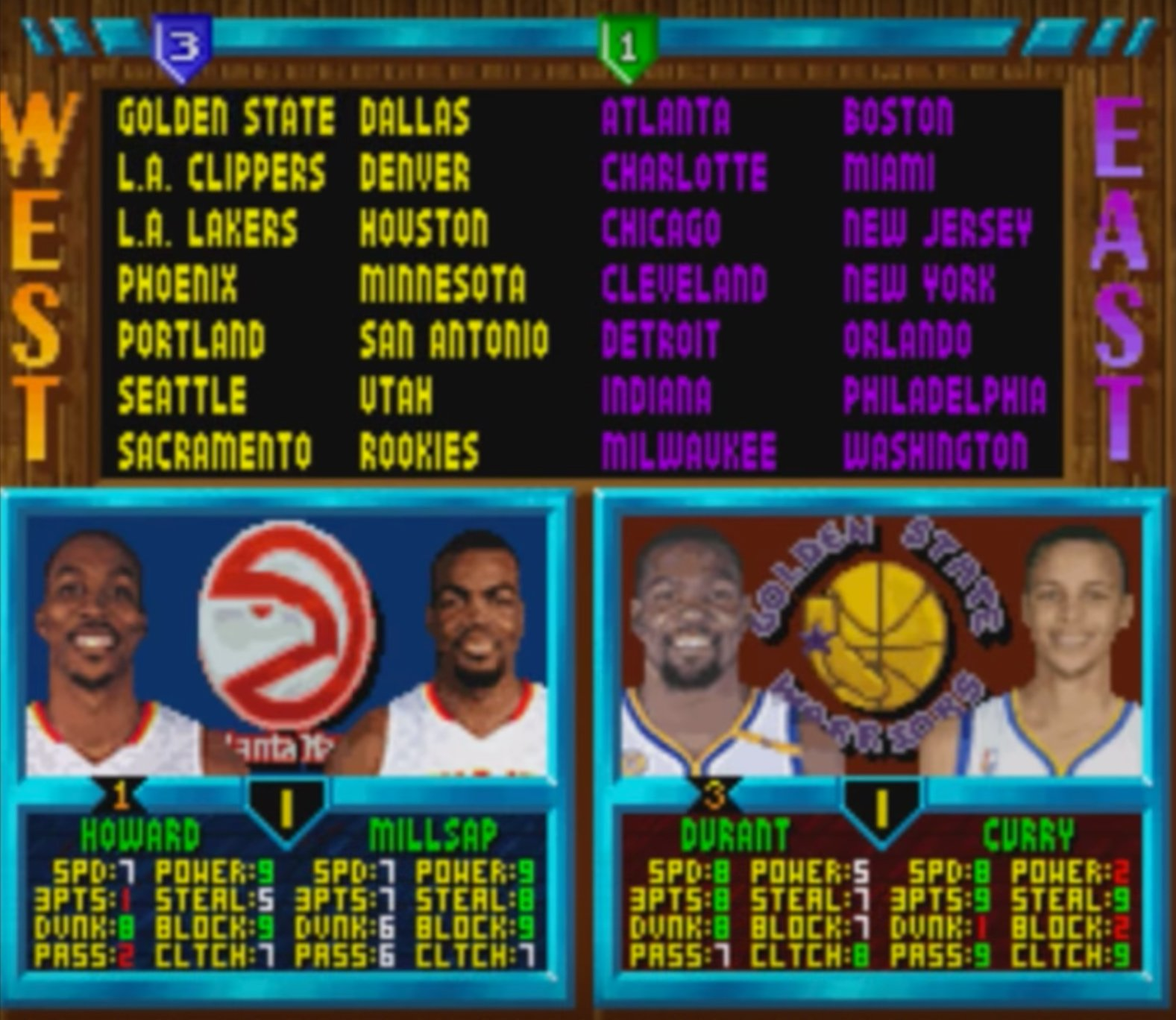 The past plus the present equals the future of wasting your time playing basketball video games on your computer. (Screencap via Hogs with a Blog)