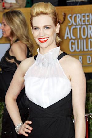 "January Jones: ""My Hair Is Falling Out in Clumps"""