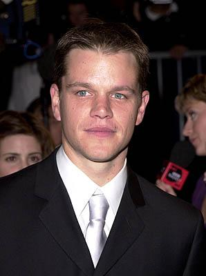 Matt Damon 73rd Academy Awards Vanity Fair Party Beverly Hills, CA 3/25/2001
