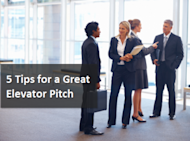 5 Tips for a Great Elevator Pitch image elevator pitch 300x223