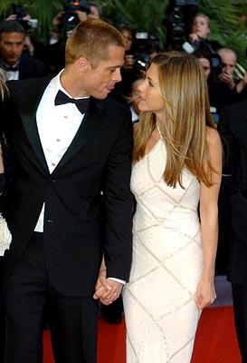 Brad Pitt and Jennifer Aniston Troy Cannes Film Festival - 5/13/2004