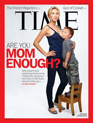 The producer of Dance Moms is creating a new reality TV show about extreme parenting, thanks to this Time magazine cover. (Photo: Time.com)