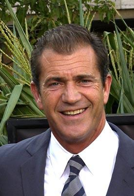Mel Gibson at the New York premiere of Touchstone's Signs