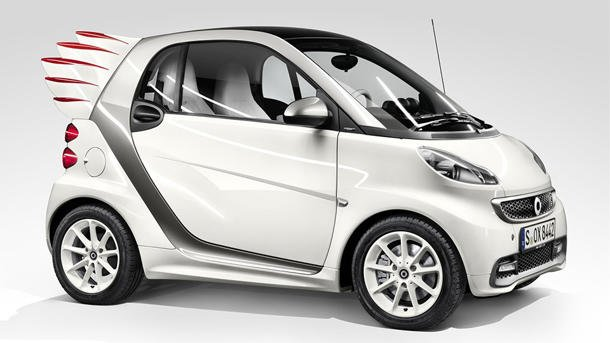 Smart fortwo wings