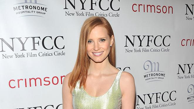 New York Film Critics Circle Awards 2012 Jessica Chastain
