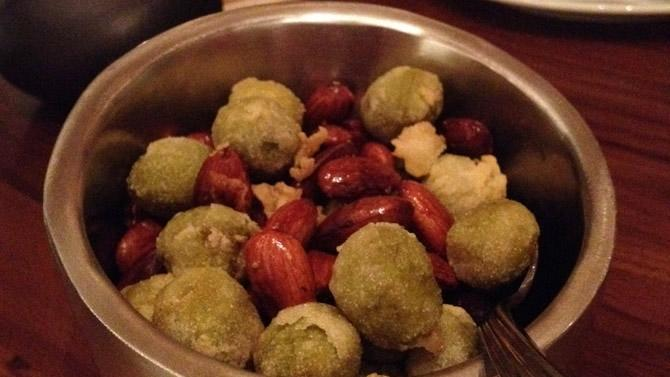 Food of the Day: Olives & Almonds at Grill & Vine