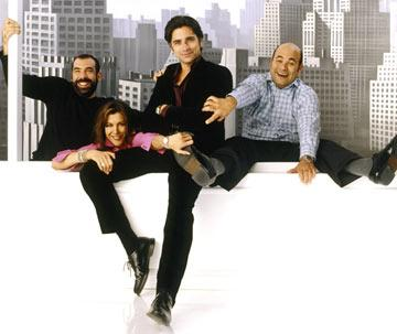 Rick Hoffman, Wendie Malick, John Stamos and Ian Gomez ABC's Jake in Progress