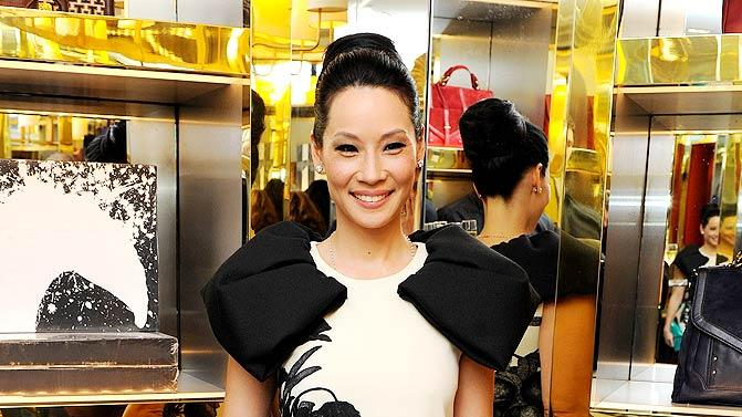 Lucy Liu Launch Party