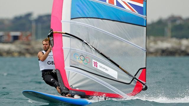 Sailing - Historic world title success for windsurfer Dempsey