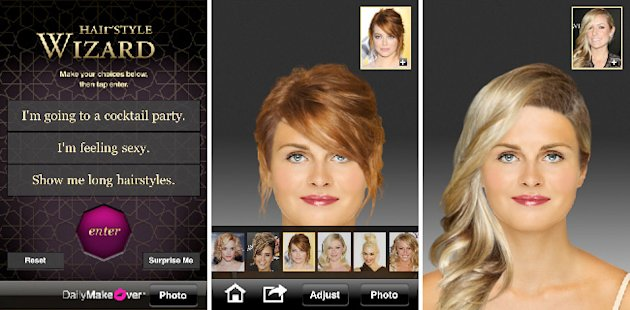 Hairstyle Wizard iPhone App