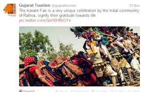 Social Media Strategy Review: Gujarat Tourism image gujurat tourism 61
