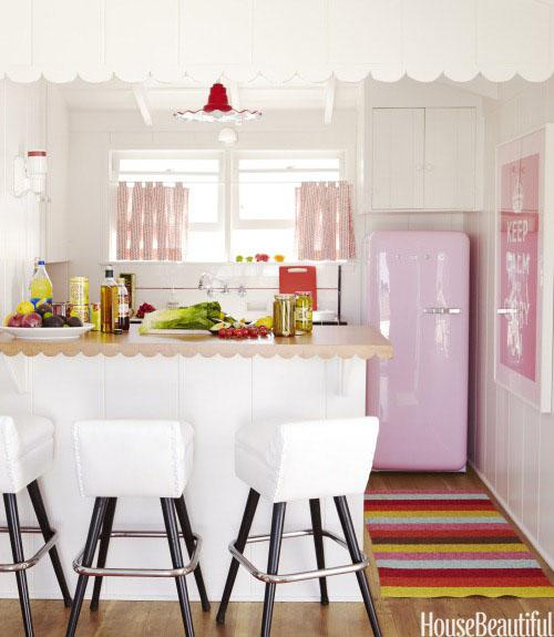 Perfect Pink Kitchen
