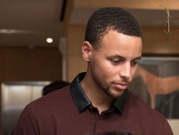 Stephen Curry sadly reflects. (Getty Images)