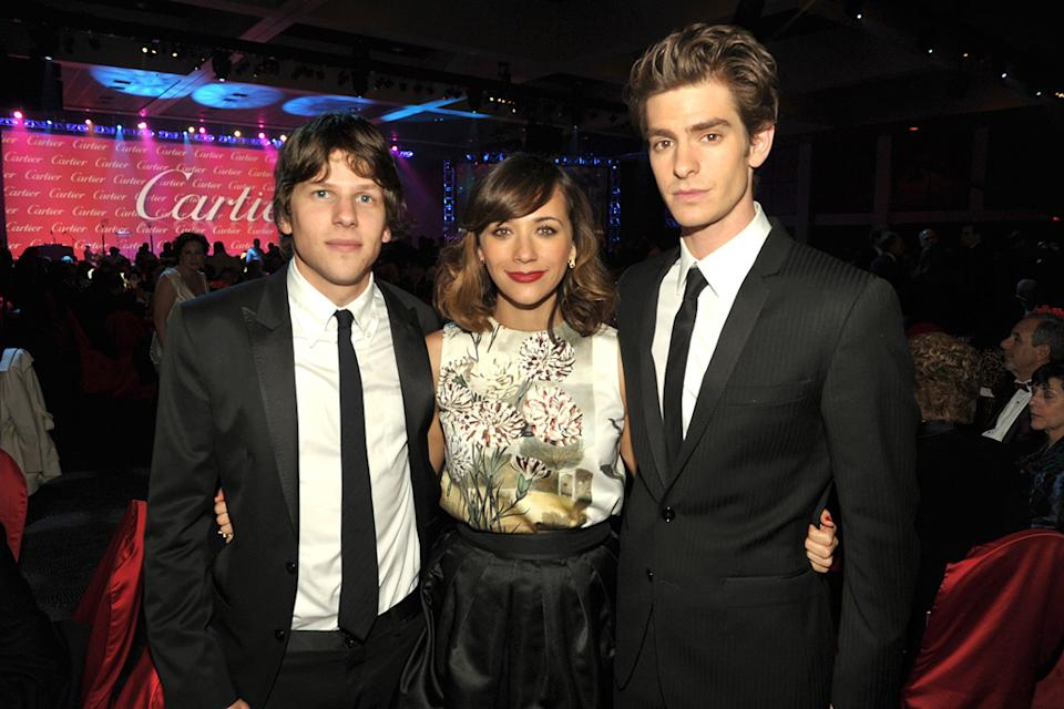 22nd Annual Palm Springs Film Festival Gala 2011 Jesse Eisenberg Rashida Jones Andrew Garfield