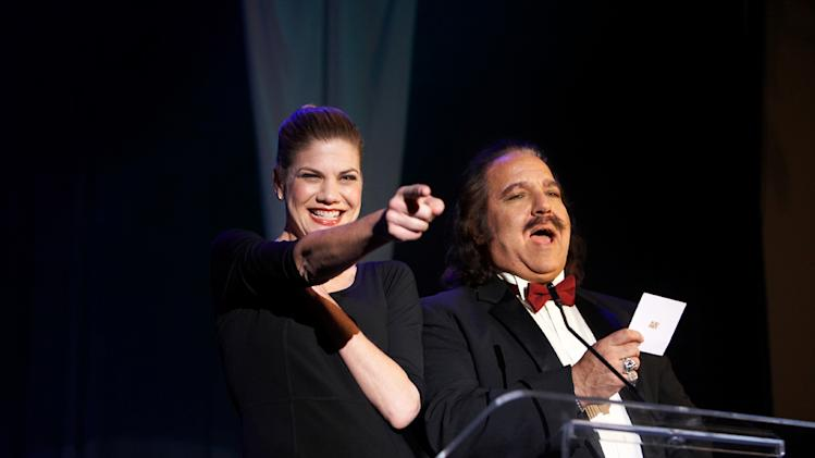 Kristen Johnston Ron Jeremy Finding Bliss Production Stills Phase 4 2010