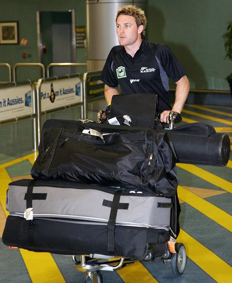 Blackcaps Arrive Home From ICC Twenty20 World Cup