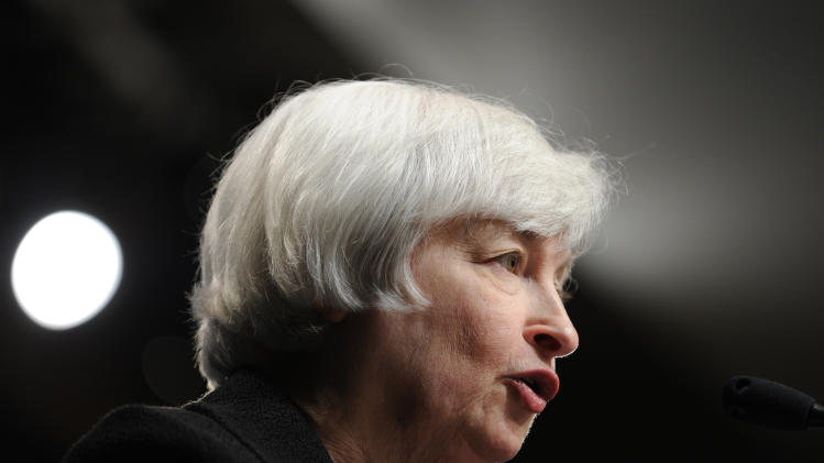 , FILE - In this Wednesday, July 2, 2014, file photo, Federal Reserve