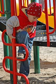 nice boy at playground image by Aleksey Kondratyuk from Fotolia.com