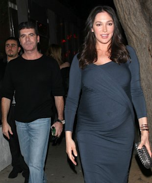 Simon Cowell 'Has Private Jet On Stand-by' As Lover Lauren Silverman's Due Date Nears