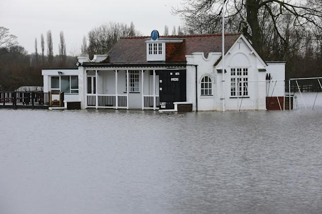 Heavy Rainfall Closes Out One Of UK's Wettest Years.