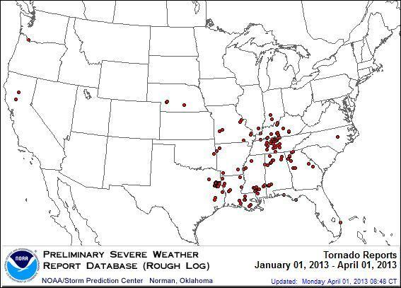 Where Are All The Tornadoes?