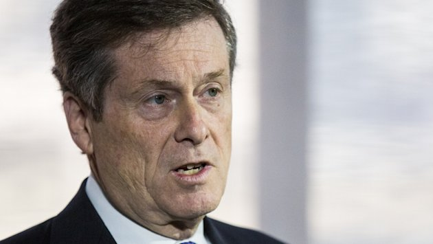 John Tory is in a comfortable lead according to the latest polls. Photo: CBC