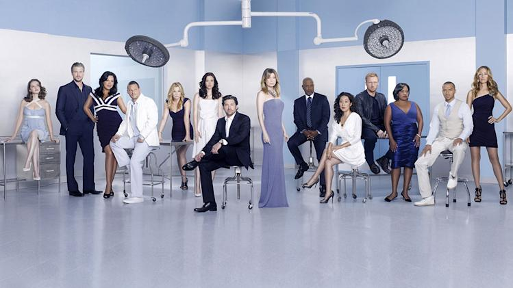 "The cast of ""Grey's Anatomy."""
