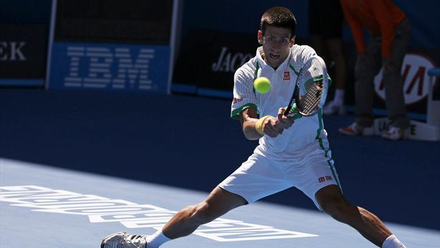 Australian Open - Djokovic breezes through as Monaco exits in first round